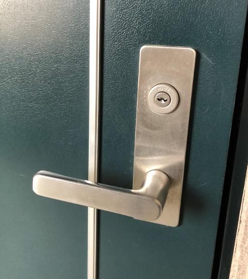 玄関錠シリンダー交換